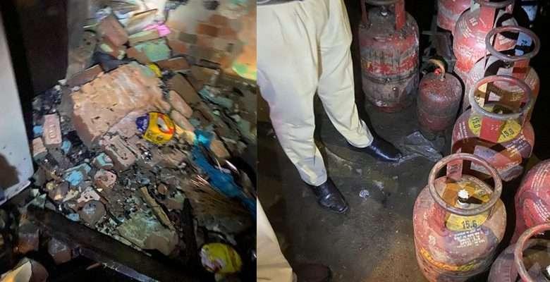 Cylinder blast in house: 1 injured, 4 killed