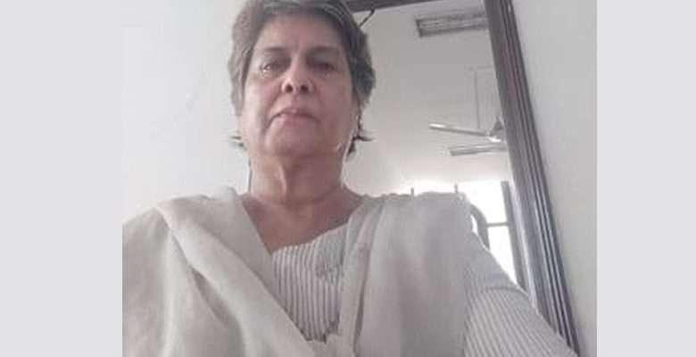 पूर्व केंद्रीय मंत्री की बुजुर्ग पत्नी की घर में घुसकर की दर्दनाक हत्या।