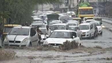 Delhi water logging