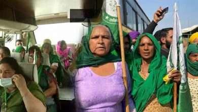 women farmers protestors leading at jantar mantar